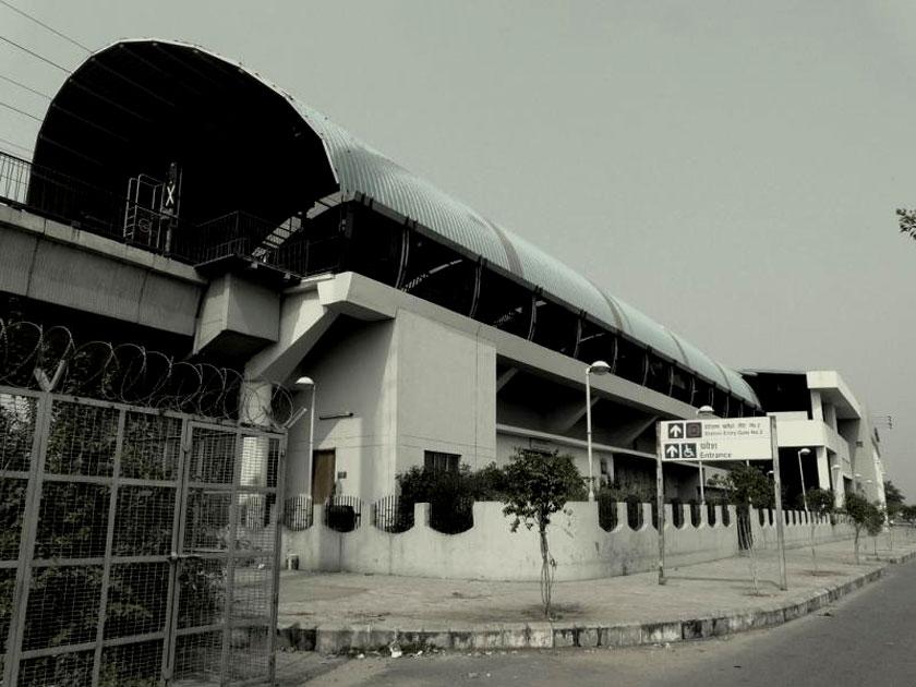Dwarka Sector 9 Metro Station, Delhi