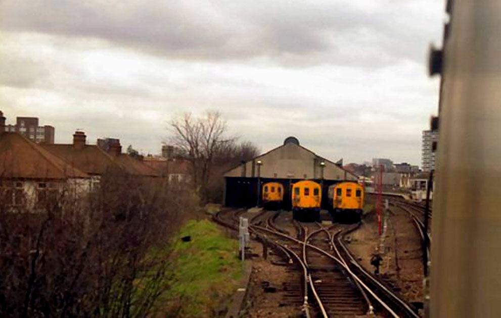 Addiscombe Railway Station, England