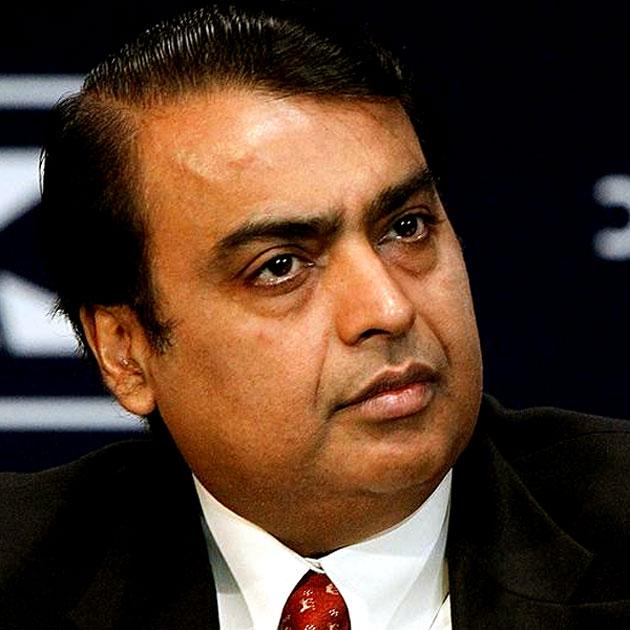 Mukesh Ambani - $38 billion