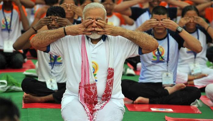 അന്താരാഷ്ട്ര യോഗാ ദിനം: യോഗ ഇന്ത്യയെ ലോകവുമായി ബന്ധിപ്പിക്കുമെന്ന് പ്രധാനമന്ത്രി നരേന്ദ്ര മോദി
