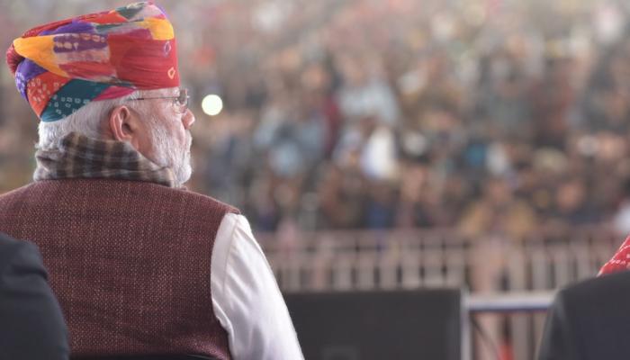 പ്രധാനമന്ത്രി നരേന്ദ്രമോദി രാജസ്ഥാനില്, ചിത്രങ്ങള് കാണാം