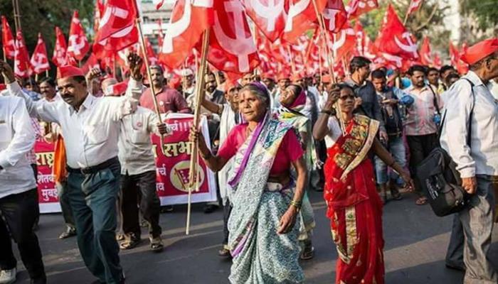 #KisanLongMarch: ഇത് പാടമല്ലെന്റെ ഹൃദയമാണ്, മുംബൈ പറയുന്നു