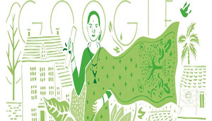 ഇന്ത്യയുടെ ആദ്യ വനിതാ ഡോക്ടറെ ആദരിച്ച് ഗൂഗിൾ