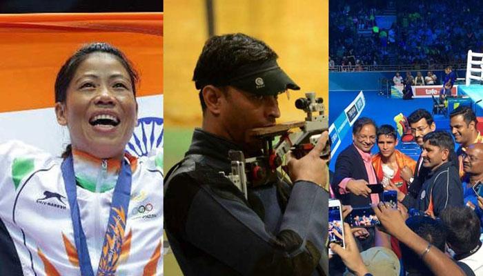 കോമണ്വെല്ത്ത് ഗെയിംസ്: 20 സ്വര്ണ്ണം നേടി ഇന്ത്യ